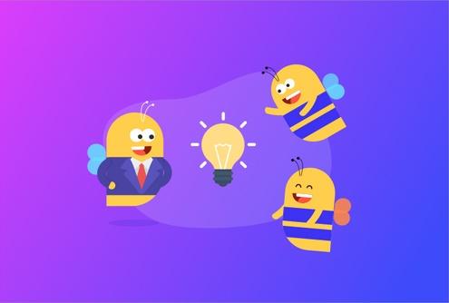 bees-team-work