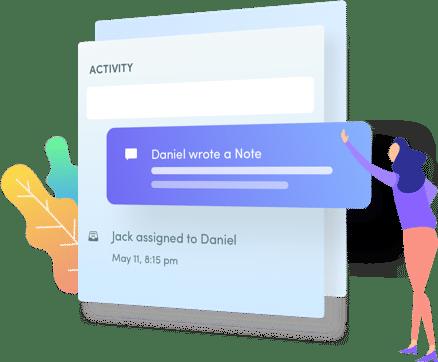 Hiver Collab Inbox Activity Panel